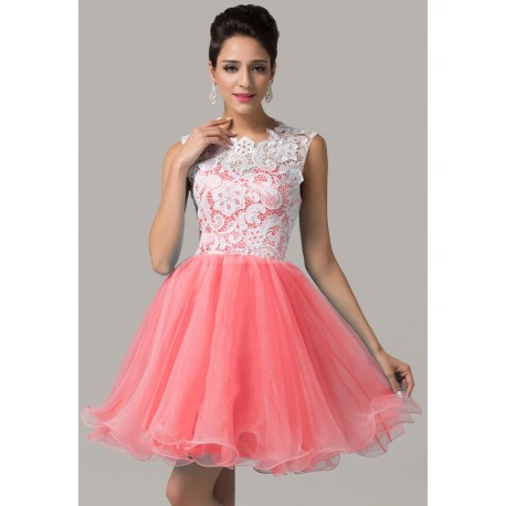 Sukienka na wesele / studniówkę z koronką, 6 kolorów