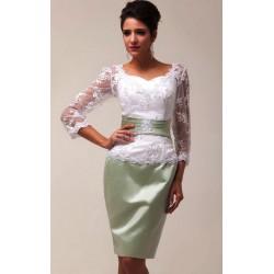Sukienka koronka - dla Matki Panny Młodej CL6067