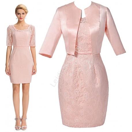 Komplet żakiet + sukienka
