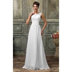 Sukienka ślubna z perełkami r.34 - r.54