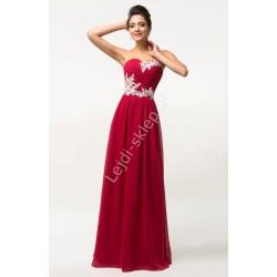 Sukienki gorsetowe z koronką , druhny, świadkowe, wesele, studniówki | hurt CL6107, 5 kolorów