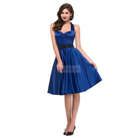 Sukienki pin-up na szyję| sukienki lata 60-te,70-te, 7 kolorów CL006046